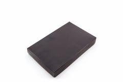 Caixa de papel preta Imagem de Stock Royalty Free