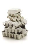 Caixa de papel recicl Imagem de Stock Royalty Free
