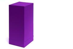 Caixa de papel vazia Imagem de Stock Royalty Free
