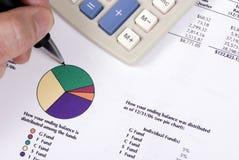 Caixa de pensões 1 Foto de Stock