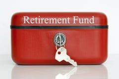 Caixa de pensões fotos de stock
