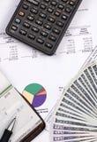 Caixa de pensões 4 Imagem de Stock