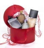 Caixa de Perfumerygift Imagens de Stock