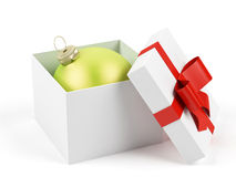 Caixa de presente. Foto de Stock