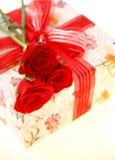 Caixa de presente Fotos de Stock Royalty Free
