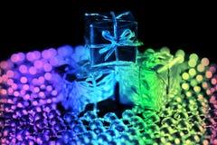 Caixa de presente Foto de Stock Royalty Free