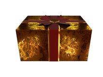 Caixa de presente 2009 Imagem de Stock Royalty Free