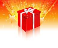 Caixa de presente Fotografia de Stock Royalty Free