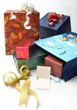 Caixa de presente foto de stock