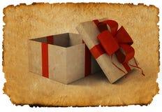 Caixa de presente Imagens de Stock
