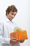 Caixa de presente Imagem de Stock