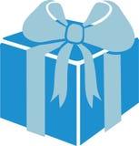 Caixa de presente com fita ilustração stock