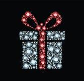 Caixa de presente da gema Fotos de Stock