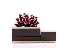 Caixa de presente da jóia fotografia de stock