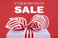 Caixa de presente da promoção de vendas Imagem de Stock Royalty Free