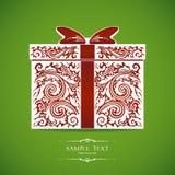 Caixa de presente decorativa decorativa Imagem de Stock Royalty Free