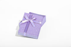 Caixa de presente do amor Fotos de Stock
