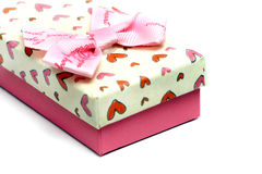 Caixa de presente do amor Imagem de Stock Royalty Free