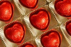 Caixa de presente do dia dos Valentim ou de matrizes - foto conservada em estoque Fotos de Stock Royalty Free