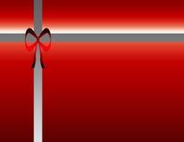 Caixa de presente do Natal Imagem de Stock Royalty Free