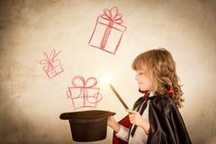 Caixa de presente do Natal Foto de Stock