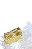 Caixa de presente festiva Imagens de Stock Royalty Free