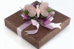 caixa de presente Muito-colorida Fotografia de Stock