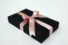 Caixa de presente - seda tailandesa Imagens de Stock