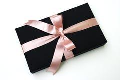 Caixa de presente - seda tailandesa Fotografia de Stock