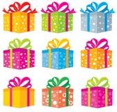 Caixa de presentes Fotos de Stock