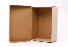 Caixa de sapata agradável do cartão Foto de Stock Royalty Free