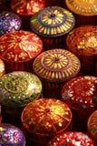 Caixa de seda tailandesa Imagem de Stock
