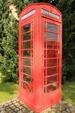 Caixa de telefone Imagens de Stock