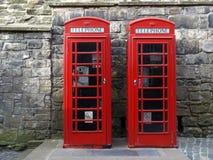 Caixa de telefone de Londres Foto de Stock Royalty Free