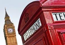 Caixa de telefone, Londres Imagem de Stock