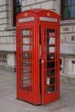 Caixa de telefone vermelha de Londres imagens de stock