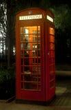 Caixa de telefone vermelha - Londres fotografia de stock