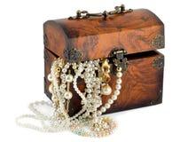Caixa de tesouro Imagens de Stock