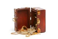 Caixa de tesouro Fotos de Stock