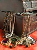 Caixa de tesouro Fotos de Stock Royalty Free