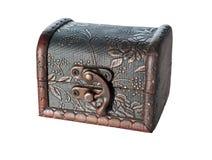 Caixa de tesouro diminuta Foto de Stock Royalty Free