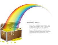 Caixa de tesouro do St. Patrick Foto de Stock Royalty Free