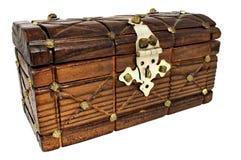 Caixa de tesouro fechada Imagens de Stock Royalty Free