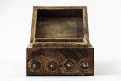 Caixa de tesouro isolada Fotos de Stock