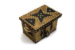 Caixa de tesouro pequena. Estilo oriental. Fotos de Stock Royalty Free