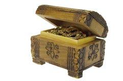 Caixa de tesouro velha fotos de stock