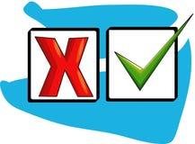 Caixa de Ticke Foto de Stock Royalty Free