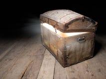 Caixa de Tresaure Foto de Stock