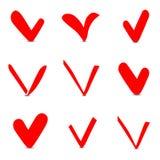 Caixa de verificação Imagens de Stock