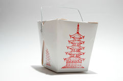 Caixa do alimento Imagem de Stock